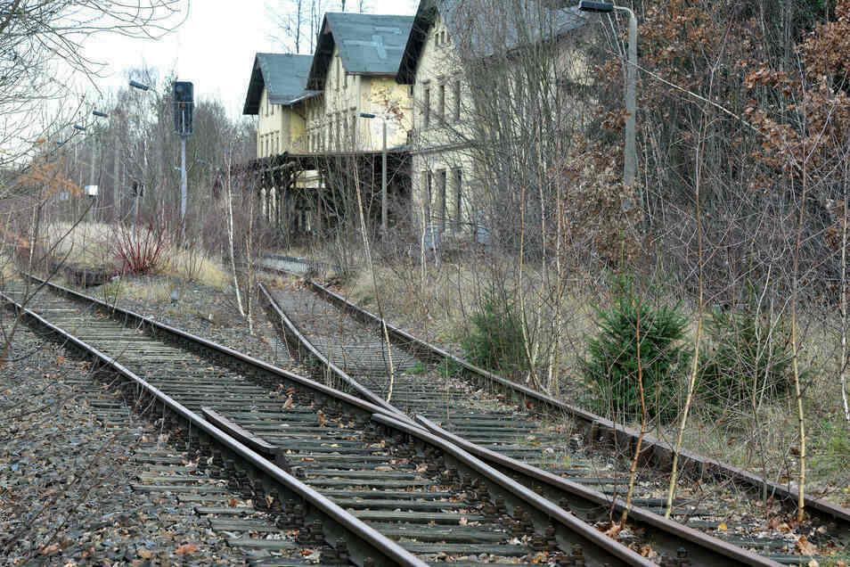 Der Bahnhof in Seifhennersdorf