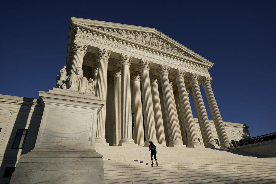 Der Oberste Gerichtshof (Supreme Court) in der amerikanischen Hauptstadt.