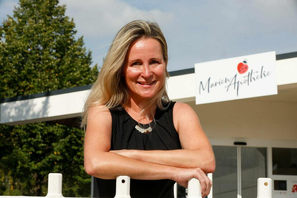 Constance Marschner führt die Marien-Apotheke in Zittau.