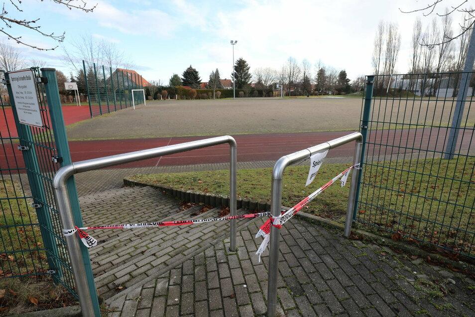 Abgesperrt: Die Sportstätten in Deutschland sind bis auf Weiteres für den Amateur- und Breitensport nicht nutzbar.