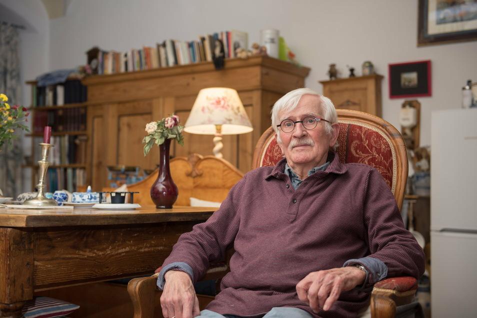 Der Pensionär Klaus Wilmes liebt seine Wahlheimat Görlitz. Als junger Lehrer unterrichtete er einst im Sauerland den heutigen CDU-Politiker Friedrich Merz.