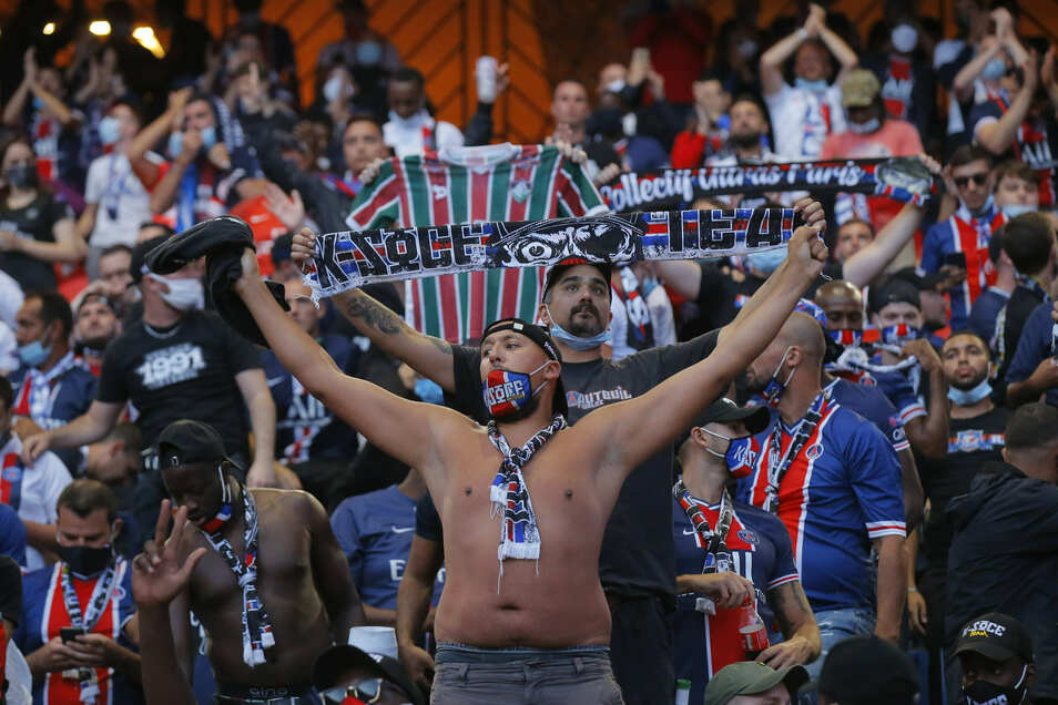 5000 Fans durften das Spiel im Stadion verfolgen.