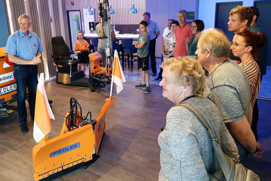 Die Putzkauer Firma Fiedler Maschinenbau war bereits 2019 das erste Mal bei der Spätschicht von Bischofswerda dabei.