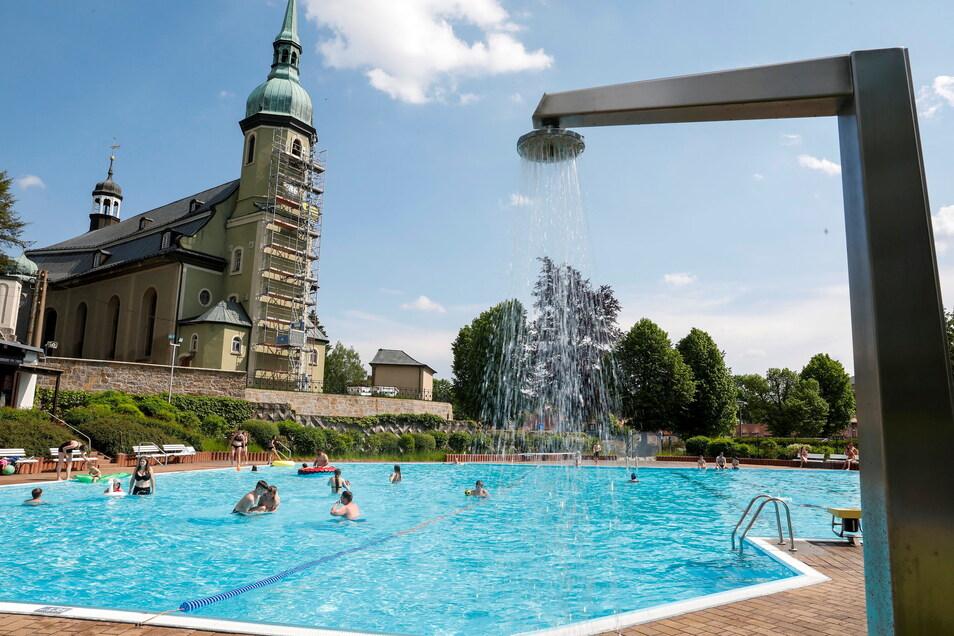 Ein Blick ins Ebersbacher Bad.