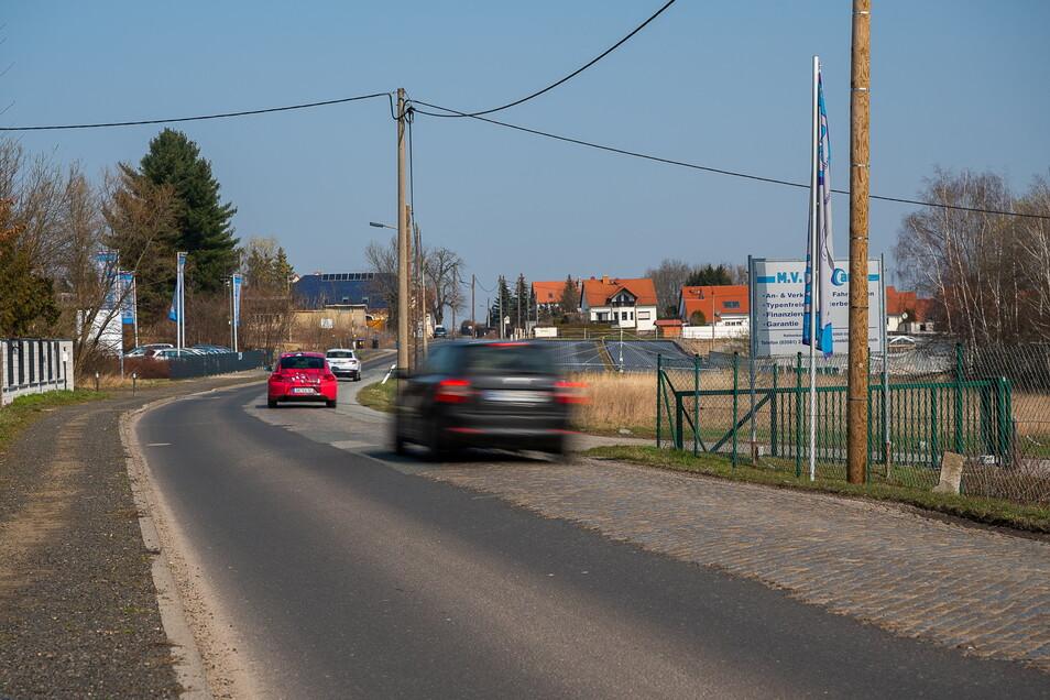 Die Rothenburger Straße soll in diesem Jahr zwischen Schlesischer Straße und Birkenallee saniert werden.