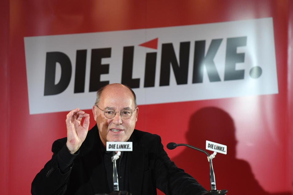 """Gregor Gysi  soll """"Außenminister"""" der Linken werden."""