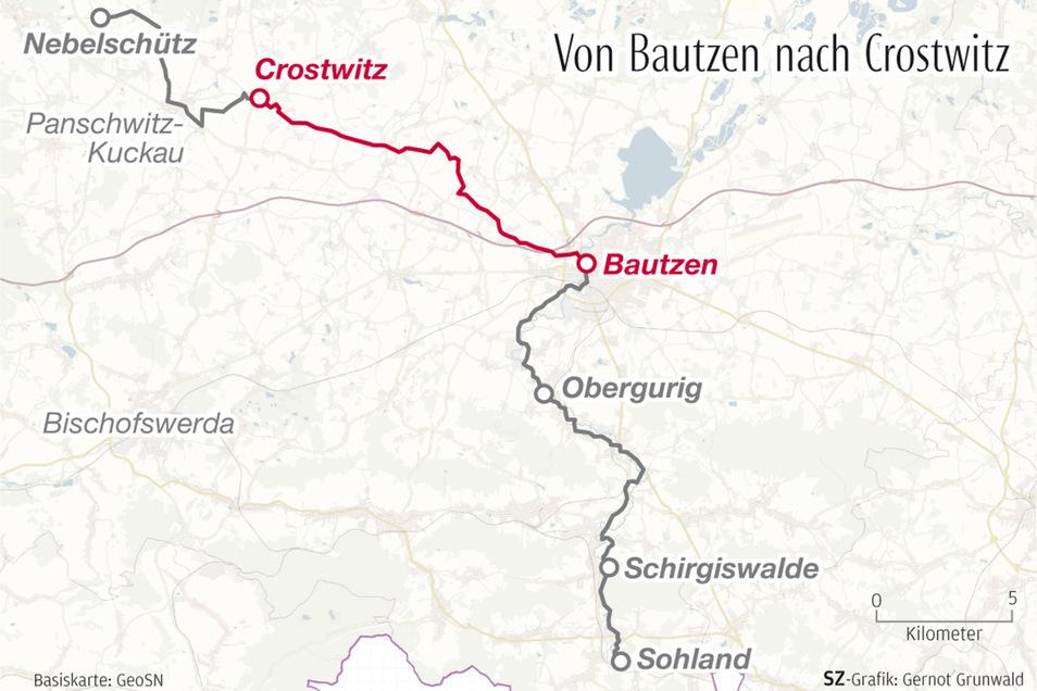 Die vierte Etappe der SZ-Wahlwanderung führte von Bautzen nach Crostwitz.
