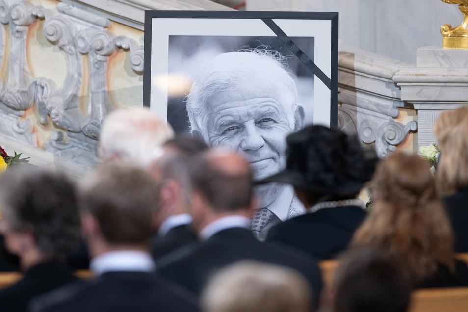 Kurt Biedenkopf war am 12. August im Alter von 91 Jahren gestorben.