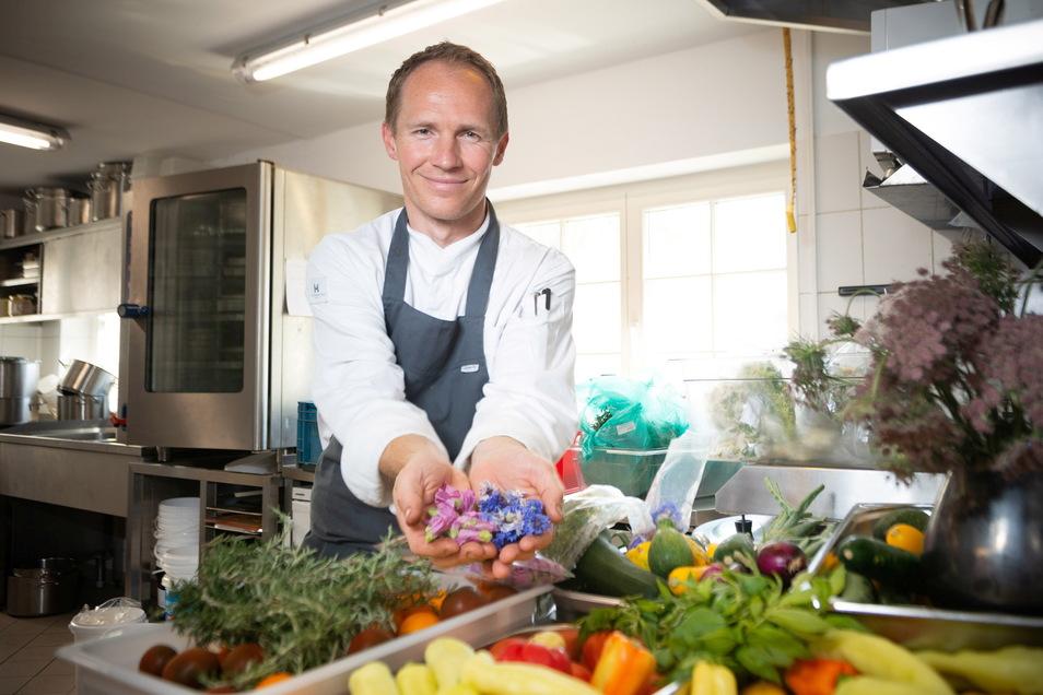 Olaf Kranz bietet frische, regionale Küche - in der Palastecke und in Schmidt's Restaurant.