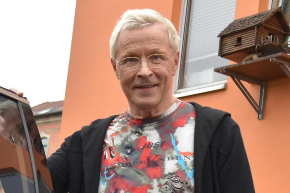 """Wolfgang """"Wolle"""" Förster, Dresdner Nachtclubkönig und Multiunternehmer."""