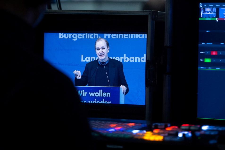 Der AfD-Abgeordnete Gottfried Curio ist der wohl radikalste Redner seiner Fraktion.