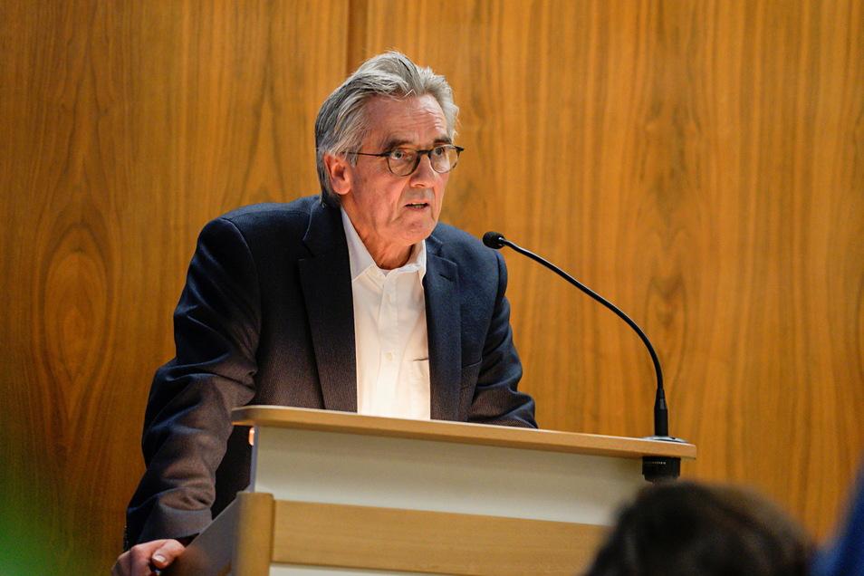 Roland Fleischer, Chef der SPD-Fraktion im Bautzener Stadtrat, weist die Kritik der FDP an OB Alexander Ahrens (SPD) zurück.
