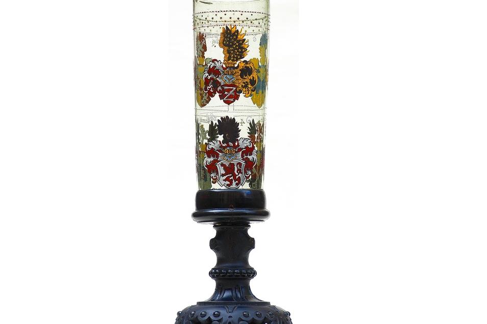 Der Sechsstädtebundpokal von 1680 ist im Stadtmuseum Löbau zu sehen.