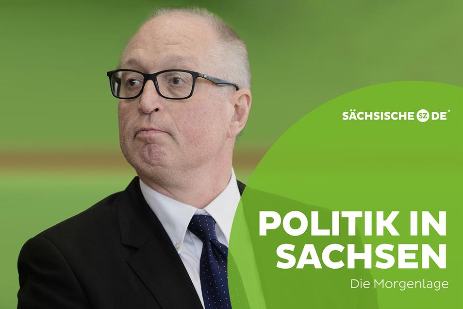 Matthias Grünberg ist seit August der Präsident des Sächsischen Verfassungsgerichtshofes.