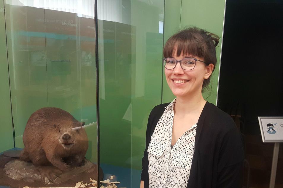 Jana Bingemer ist die neue Museumspädagogin am Senckenberg Museum für Naturkunde in Görlitz.