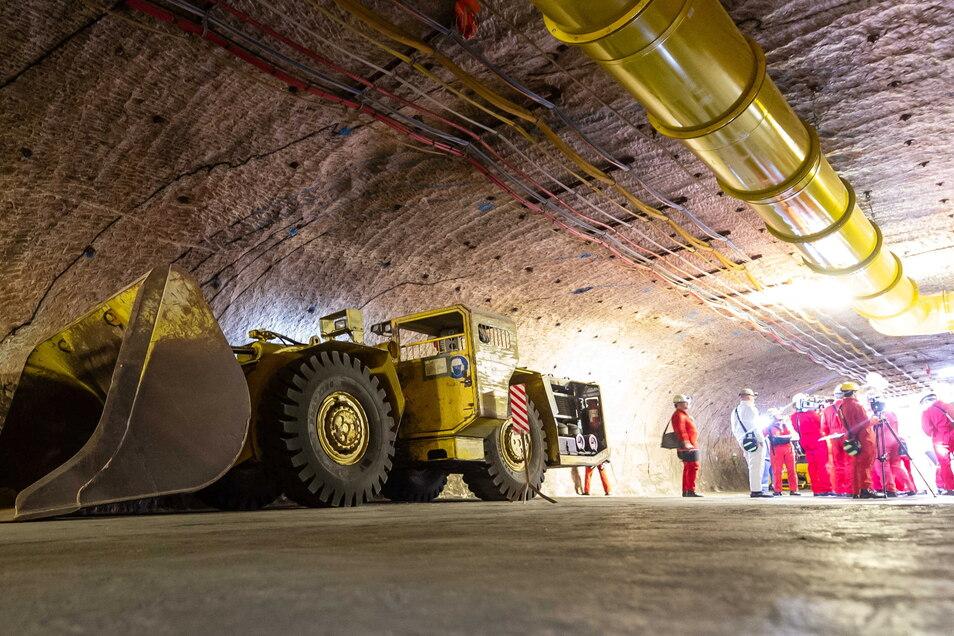 Der Salzstock in Gorleben wurde jahrzehntelang für die Endlagerung von hoch radioaktivem Atommüll erkundet.