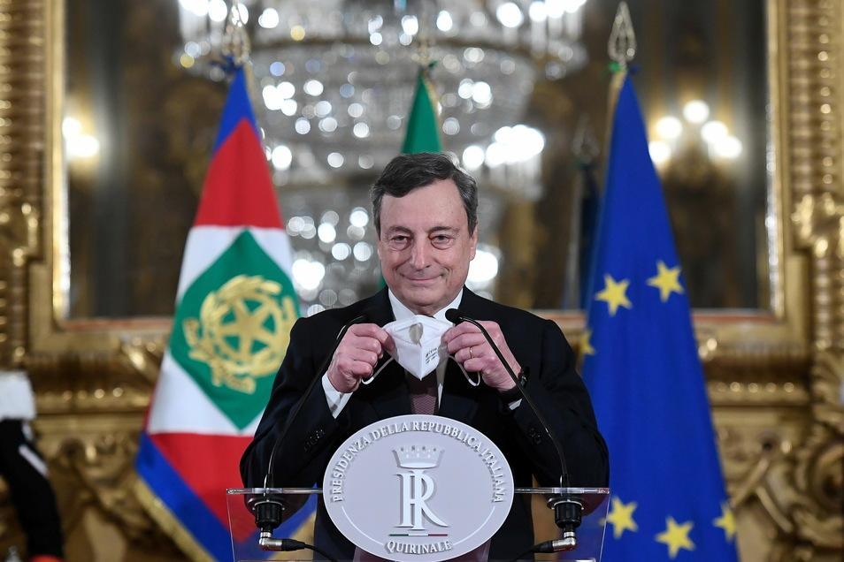 Mario Draghi ist Italiens neuer Regierungschef.