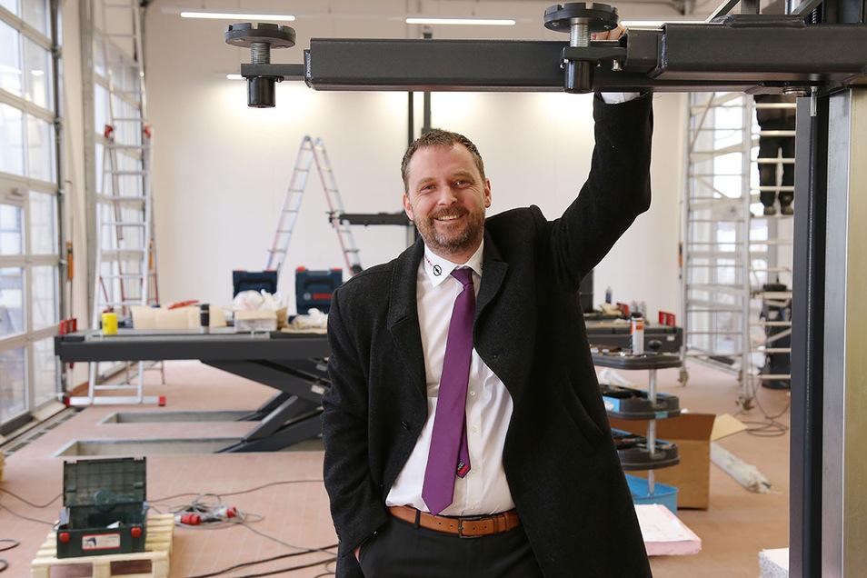 Auch in Corona-Zeiten mit seinen Autohäusern für alle Kunden da: Christian Schleicher, Geschäftsführer der Autohaus Dresden GmbH