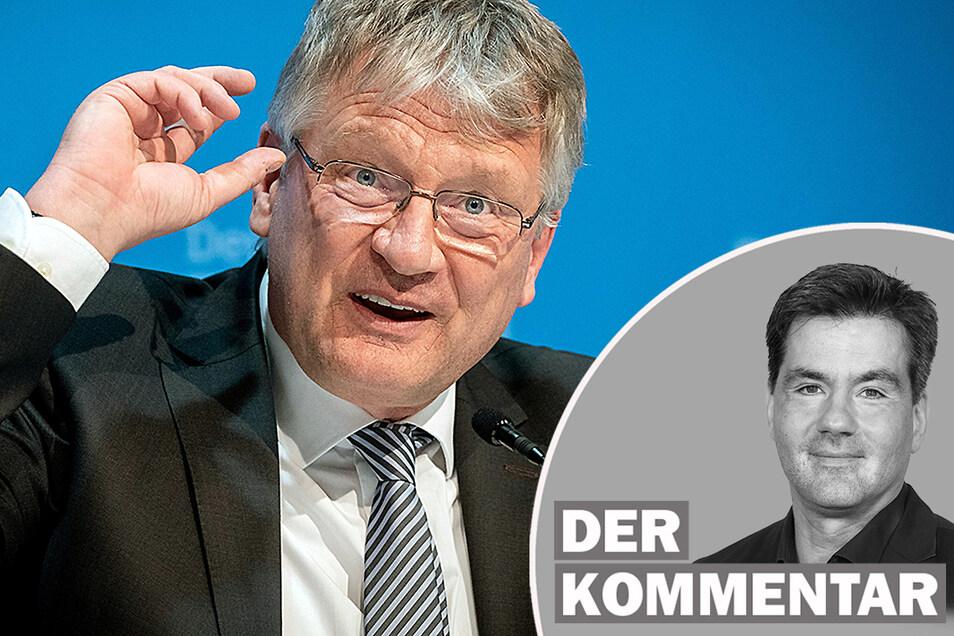 Jörg Meuthen kandidiert nicht mehr für den AfD-Parteivorsitz.