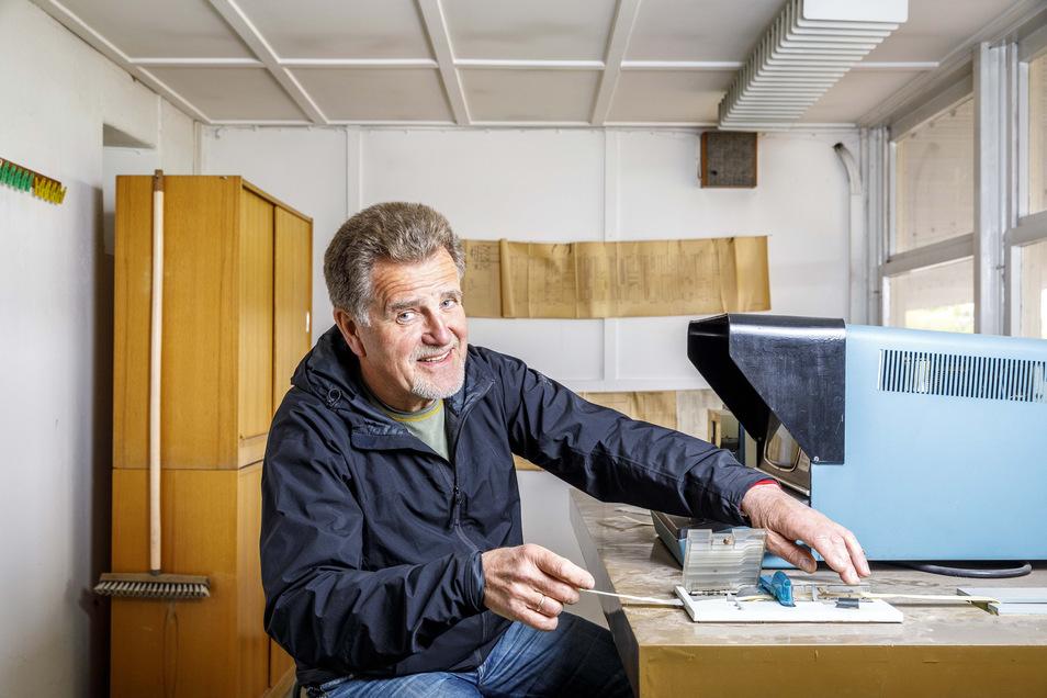 Für Gunter Noack war das bisher unbekannte Innenleben der Tafel 36 Jahre Teil seines Berufslebens.