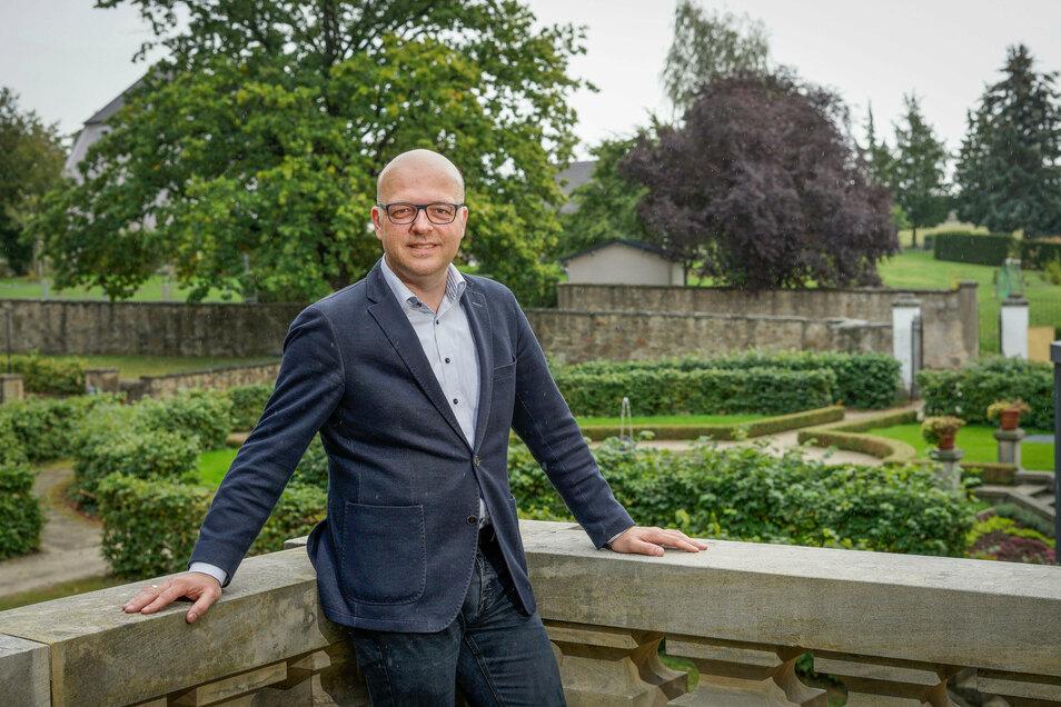 """""""Unser Haus will Menschen zusammenbringen"""", nennt Rektor Sebastian Kieslich den Anspruch des Bildungsgutes Schmochtitz Sankt Benno."""