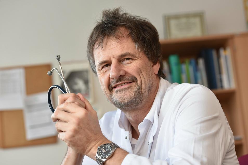 Andreas Reichel ist der neuer Chefarzt der Diabetologie. Er war zuvor an der Uniklinik Dresden.