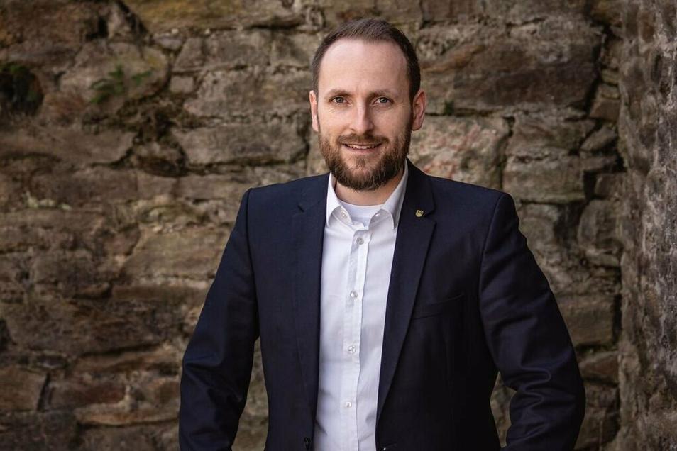 Robert Frisch ist 33 Jahre alt und Geschäftsführer des CDU-Kreisverbandes Mittelsachsen.