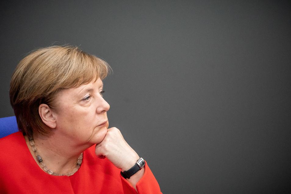 Bundeskanzlerin Angela Merkel hat eine Sitzung abgesagt.