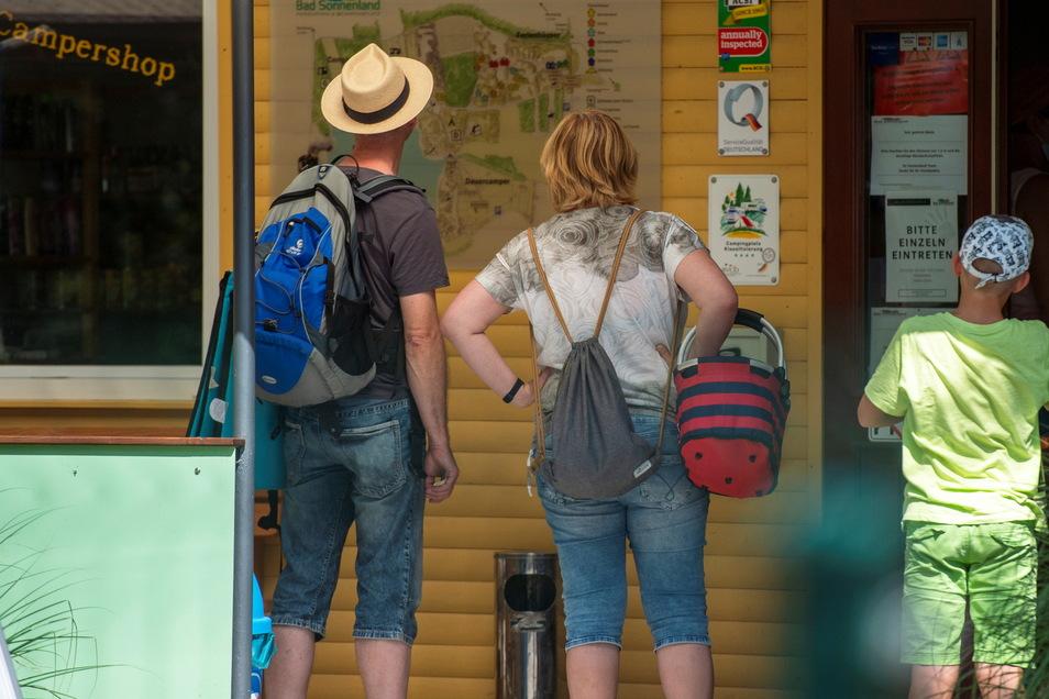 Am Zeltplatz Bad Sonnenland gibt es am Sonntag auch Angebote für Familien.