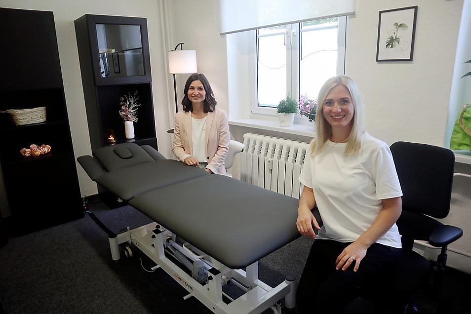 Anfang dieses Monats öffnete die Ergotherapie Balance in Lohsa. Sie ergänzt jetzt den Ambulanten Pflegedienst Ballandt. Vor Ort im Einsatz sind Stephanie Birgany (rechts/Fachliche Leiterin Ergotherapie) und ihre Stellvertreterin Julia Müller.