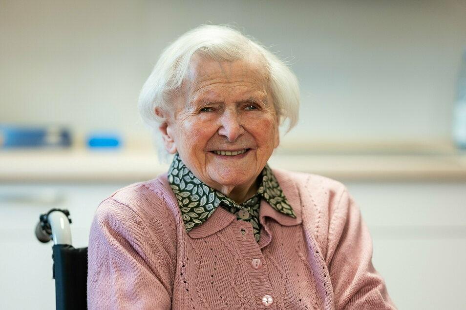 Geboren am 21. Januar 1915: Mit 106 Jahren ist Elfriede Goschütz die älteste Einwohnerin von Görlitz.