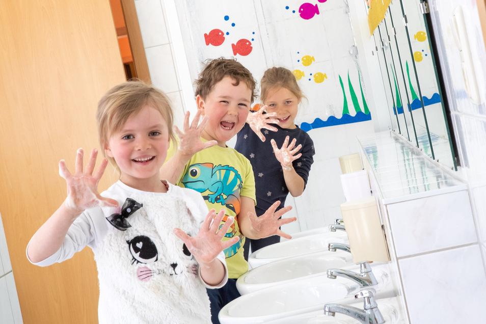 """Symbolbild: Händewaschen wird in Zukunft wichtiger denn je: """"Es ist alles eine Organisationsfrage."""""""