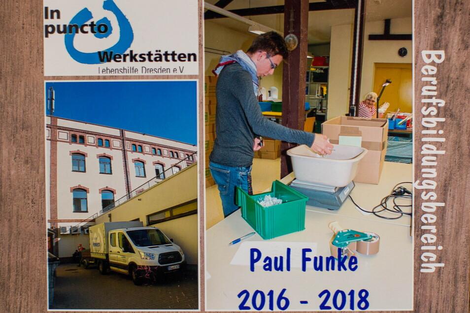 Die Werkstatt von Paul Funke in Radebeul ist seit Monaten geschlossen.