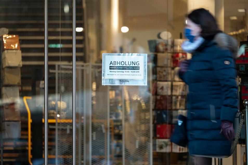 Ab Mitte Februar soll auch in Sachsen ein Bestell- und Abholservice im Einzelhandel möglich sein. Thomas Tiebel vom Gewerbeverein Radeberg befürwortet den Schritt.