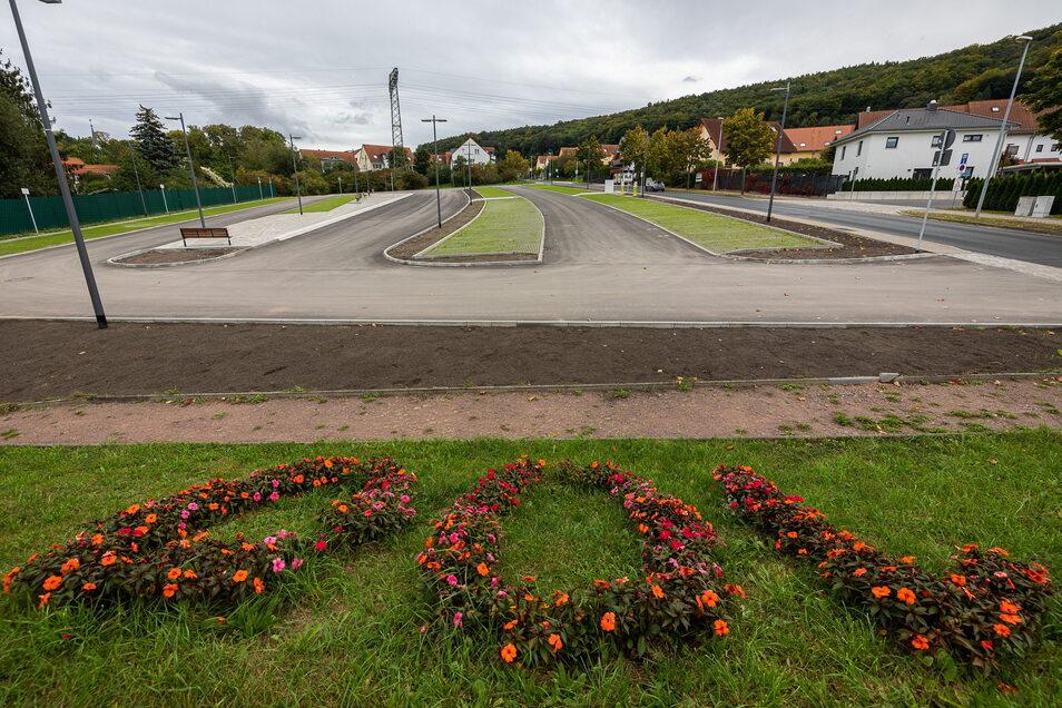 Erst kürzlich wurde der Parkplatz Burgker Straße freigegeben, aber etwas fehlt noch.