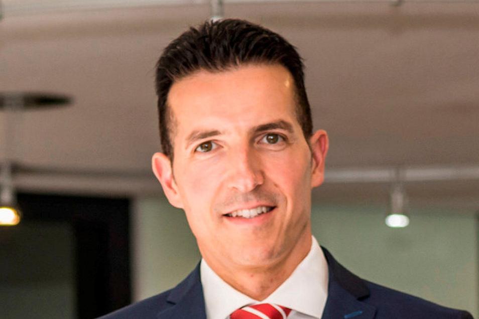 Thomas Gogolla wechselte 2017 in den Vorstand der Sparkasse Döbeln. Mit Uwe Krahl stellt er die Führungsspitze.