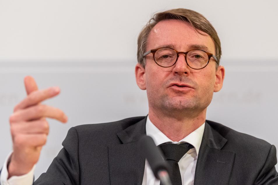 Sachsens Innenminster Roland Wöller (CDU).