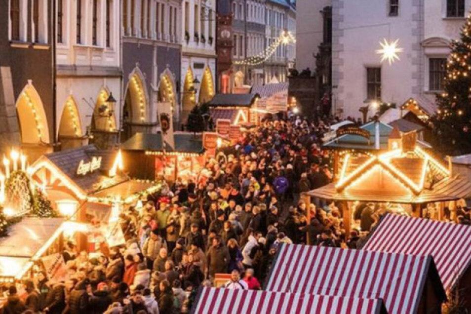 Zum zweiten Adventswochenende öffnet auch der Schlesische Christkindelmarkt zu  Görlitz.
