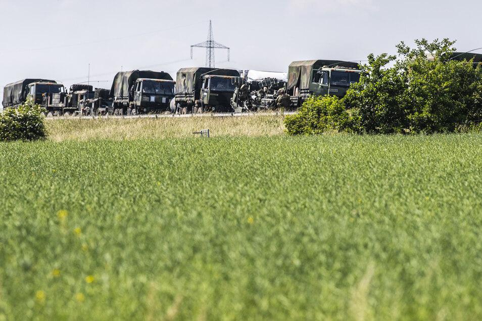Die US-Armee verlegte bereits im letzten Jahr Panzer, Ausrüstung und Soldaten nach Osten.