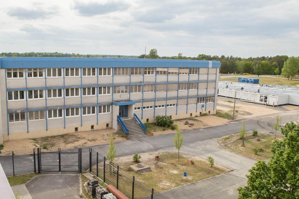 Die Hochschule der Sächsischen Polizei in Rothenburg wird derzeit umgebaut.