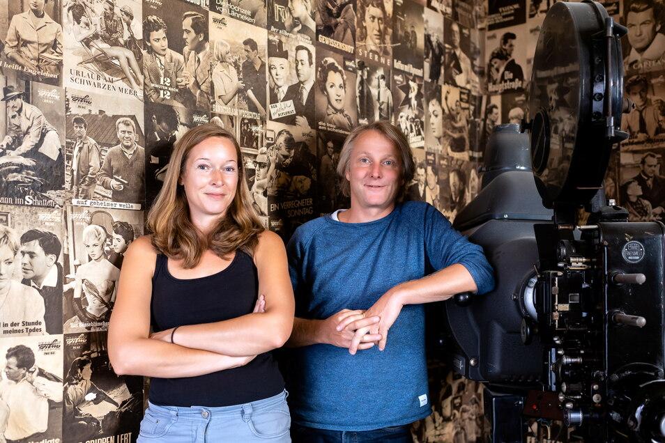 Stefanie Sommerschuh und André Peters zählen auf ihr Neustädter Stammpublikum. Aber nicht nur das.