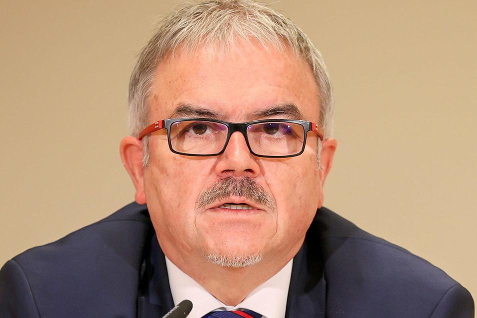 Frank Vogel, Landrat des Erzgebirgskreises.