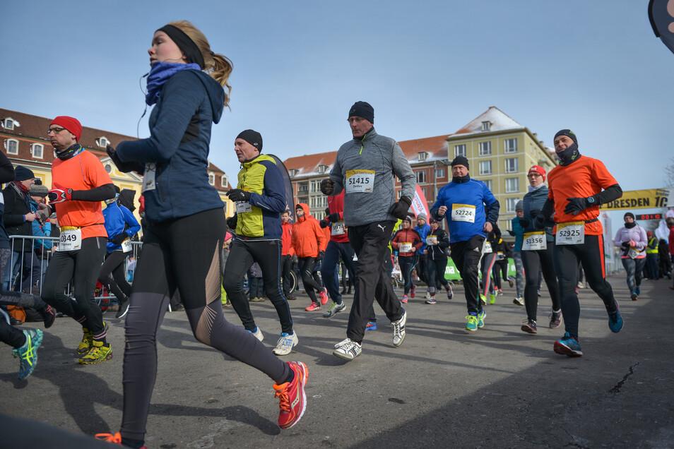 Am Sonntag startet in Dresden der Citylauf.