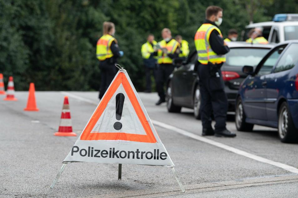 Mit den Kontrollen soll die grenzüberschreitende Kriminalität an der deutsch-polnischen Grenze bekämpft werden.