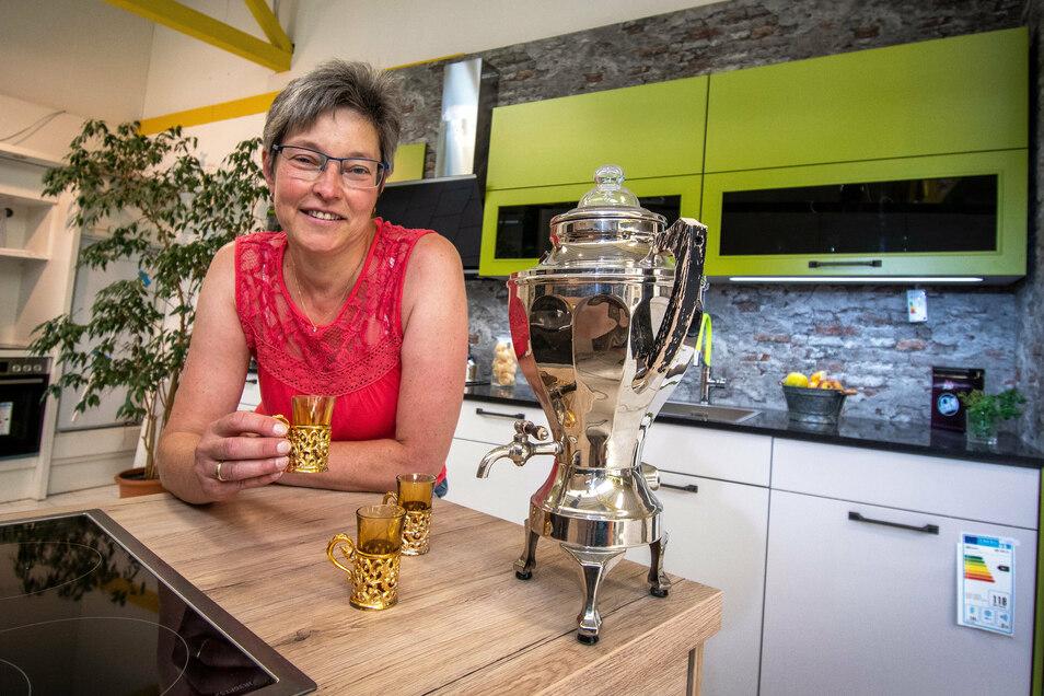 Aufgrund der Mehrwertsteuersenkung verzeichnet Ina Starke bei Palko in Döbeln eine größere Nachfrage bei Küchen.