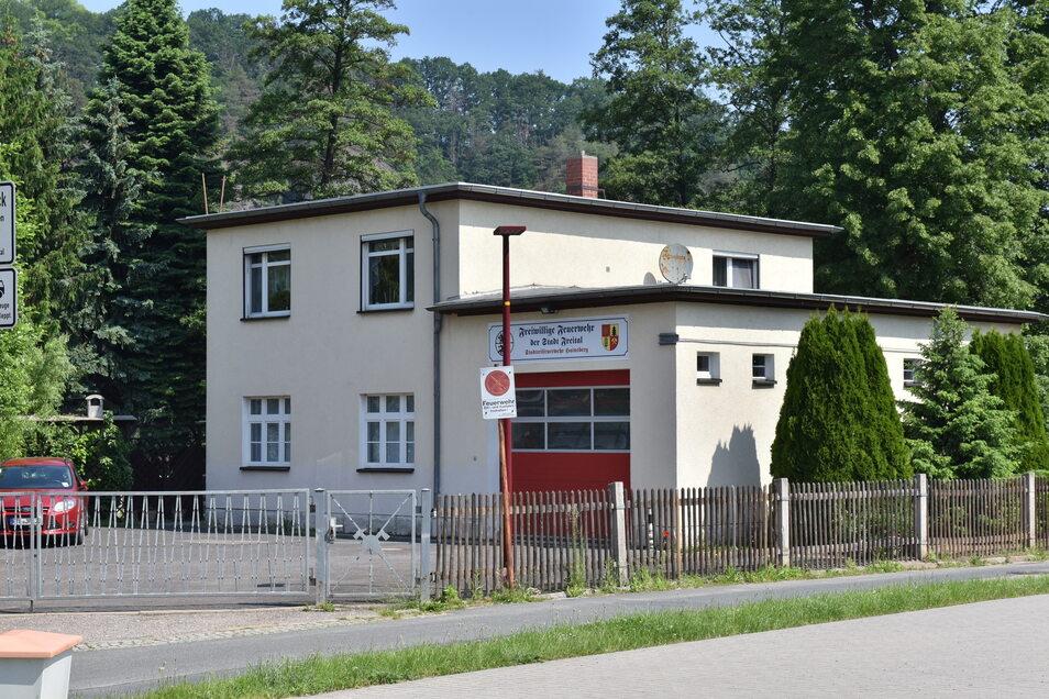 Haisnbergs Feuerwehrdepot ist zu klein für ein neues Fahrzeug. Ein Neubau muss her.