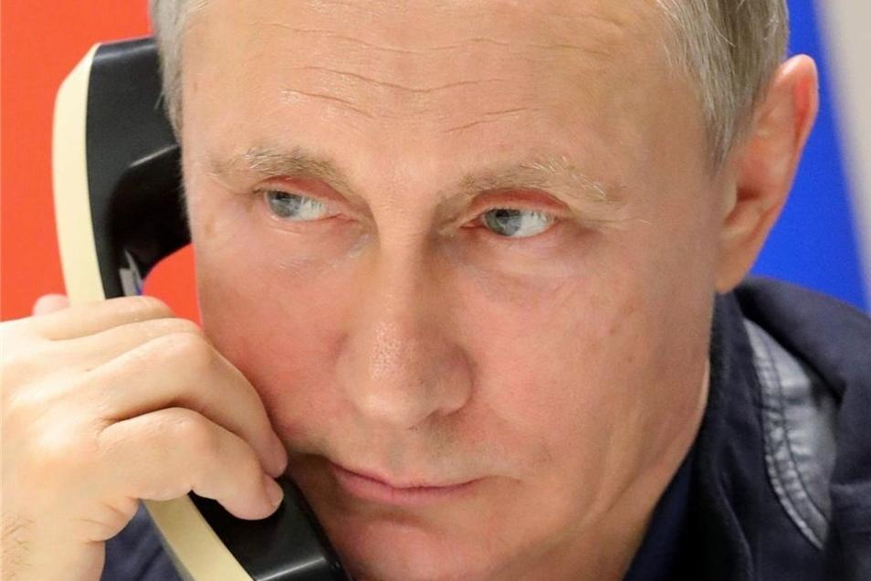 Putin am Apparat.