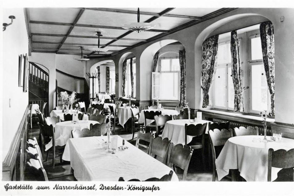 Ab 1937 befand sich eine Gaststätte in dem Haus.