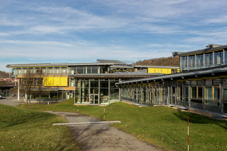 """Auch das Berufsschulzentrum """"Otto Lilienthal"""" in Freital profitiert von den Fördermitteln."""