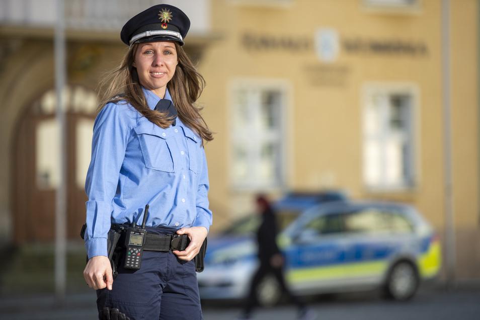 Polizeioberkommissarin Michaela Gruner ist die neue Bürgerpolizistin der Gemeinde.
